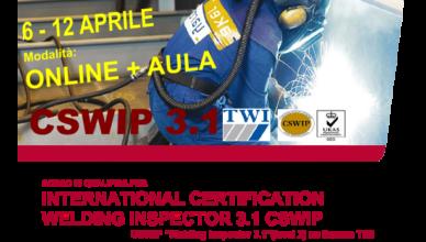 corso welding inspector ispettore di saldatura